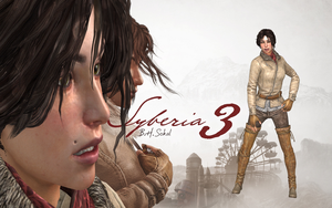 SYBERIA 3 - KATE WALKER NORMAL OUTFIT RIGGED by Oo-FiL-oO