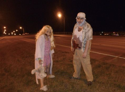 Dead Dale and Little Zombie Girl 1 by Linksliltri4ce
