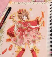 CCS Copic Illustration  by pomifumi