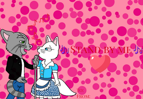 Tom and Angela Valentines day card by mkl91