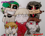 #EvilYouTuberSquad by pandaserules97