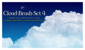 Cloud Brush Set 4 by s3vendays