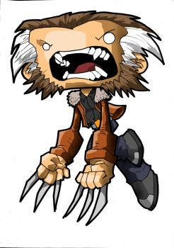 chubbies old man logan by WOLVERINE76