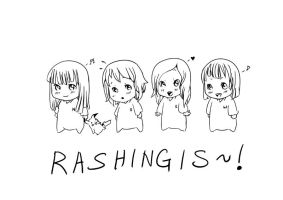 Chibi Rashingis by shirua