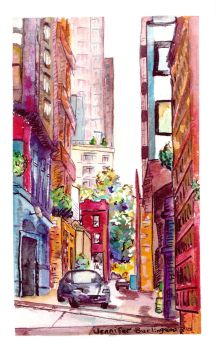 Belltown's Post Alley, North by jempavia