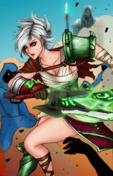 LoL- Riven by Dane-of-Celestia