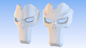 Darksiders 2 - Death's Mask Sculpt by 3DPad