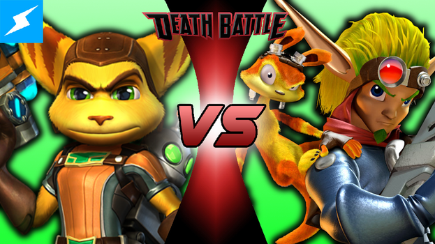 DEATH BATTLE! Ratchet and Clank VS Jak and Daxter by MattPlaysVG
