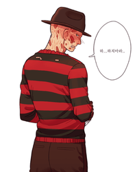 Taking off Freddy's clothes by NRjin