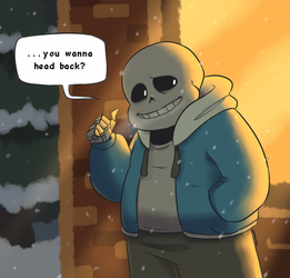 UT: It's Pretty Cold Out After All by SugarKills