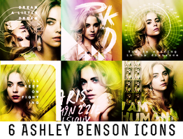 6 Ashley Benson Icons by 19-Misfits