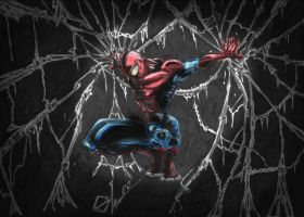 In the web of the shadows !!!!! by Slavik-Lee