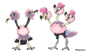 Alolan Doduo and Dodrio