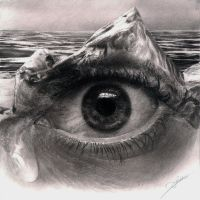 Life Sinks Drawing by AmBr0