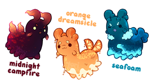 [Closed] Summer Pacapillars Auction by toripng