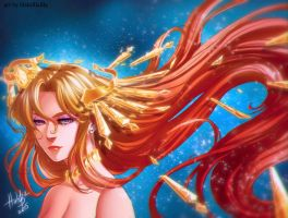 Sailor Galaxia by HaloBlaBla
