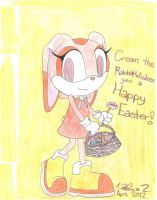 Cream Wishes You A Happy Easter 2012~ by Nado13579