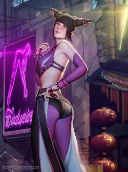 Juri Han (Street Fighter) by Moonarc