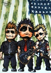 Green Day - American Idiot by LeftHandedMutant