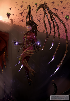 Queen of Blades by Levicopter