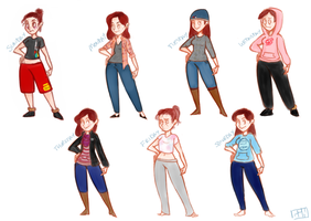 What I wore this week by yourmomscat
