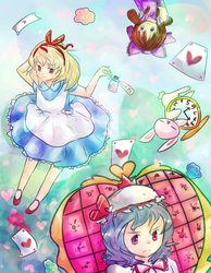 Touhou is Wonderland by moondapple
