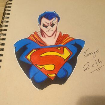 Superman by CartoonWatch