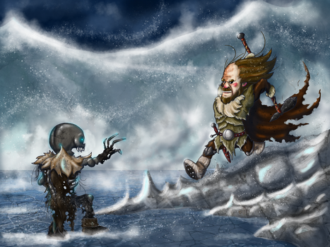The Hound vs The Wight by Shodanicron