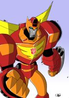 Animated Rodimus Prime Colours by palmaay