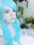Ghost Princess trapped in Snow and Ice by emavindierocker