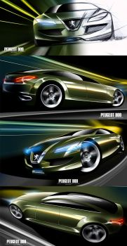 Peugeot Design Contest Entry 1 by husseindesign