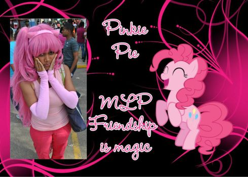Pinkie pie cosplay by Ahrinx1