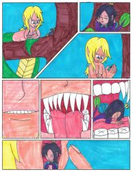 Art Trade Comic Pg. 1 for BigClaudia (Color) by sonichannah