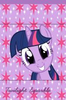 Twilight Sparkle iPhone 4 Wallpaper by AceofPonies