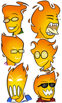 Grillby Mouths? by Noobynewt