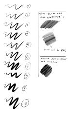 Carbon Pencil Brushes 2013 V 1 by Brollonks