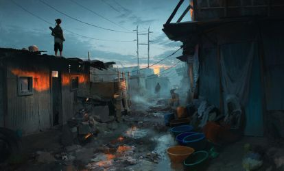 Slums by Datem