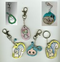 Keychains Nr6 by jentsukase