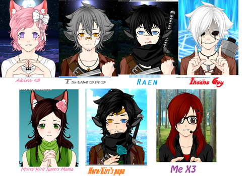 My oc's in RWBY RP by Eclipse45856