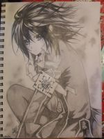Yuki Cross ..Vampire Knight Fanart.. by omgitsadryl