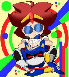 Eggette/Omelette and Metal-Sonic by Kamira-Exe