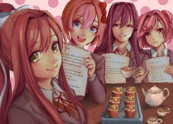 Doki Doki Literature Club by suzanna8767