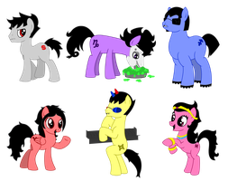 HS-MLP Crossover: Batch 2 by Warcry31