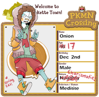 Pokemon Crossing App - Onion by tritn