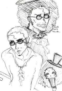 Brook Sketches by KikkoPirate