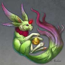 Carbuncle by Araless