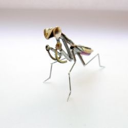 Watch Parts Praying Mantis No 43 by AMechanicalMind