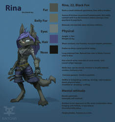 Rina adoptable [OPEN] by RatchaArt