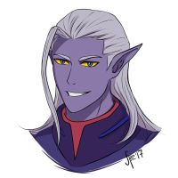 Voltron prince Lotor by AtreJane