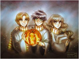 Harry Potter: Happy Halloween by daekazu